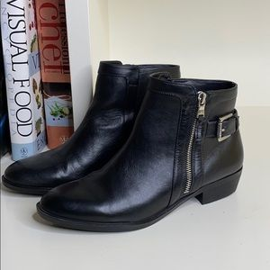 Ralph Lauren Shoes - Ralph Lauren Black Shelli Ankle Buckle Booties